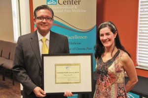 Physician Honored for Work Combating Prescription Drug Abuse