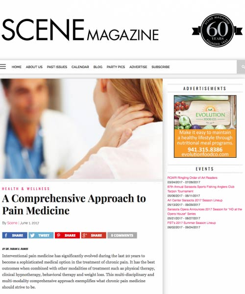 A Comprehensive Approach to Pain Medicine by Fabian Ramos, MD